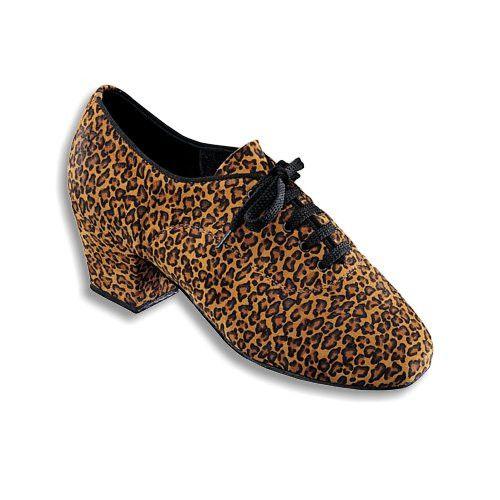DANCENATURALS 10A Leopard Leather Print