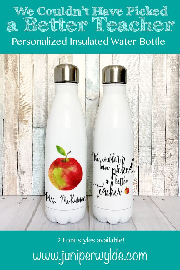 stainless steel water bottle for teachers insulated water bottle