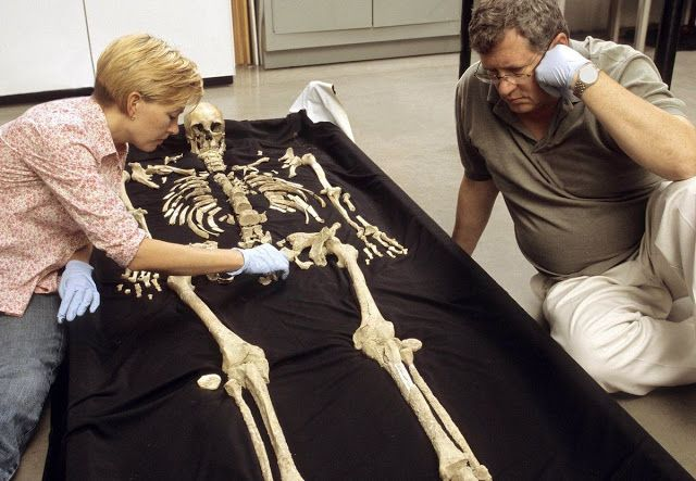 Ancient 'Kennewick Man' remains returned to Columbia River tribes