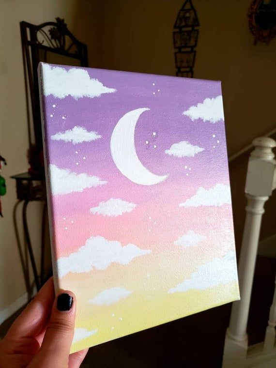 Ombre Canvas Painting Ideas : ombre, canvas, painting, ideas, AngelsAvi