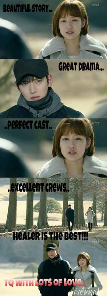 Is Healer one of the best kdrama?