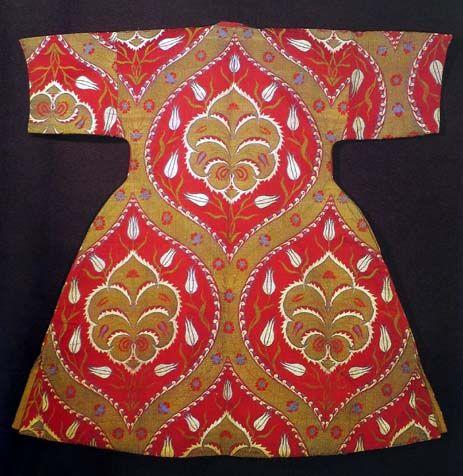 Ottoman, caftan from 16th century