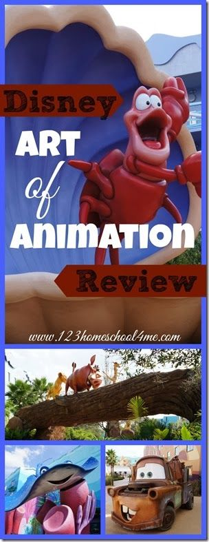 Disney's Art of Animation Hotel at Disney World Review. See the amazing theming, suties for families of up to 6 to still stay in one room, and what you need to know BEFORE you book here!