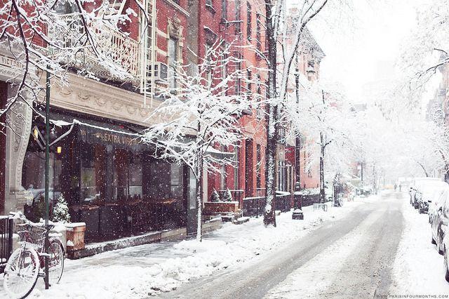 Winter Wonderland in New York by Paris in Four Months, via Flickr