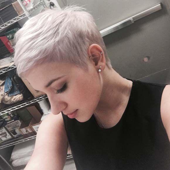 Prime 17 Best Ideas About Platinum Pixie Cut On Pinterest Cute Pixie Short Hairstyles Gunalazisus