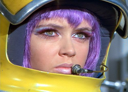 Gabrielle Drake - what every young boy wanted in a sci-fi TV series U.F.O.