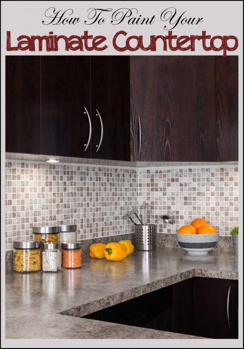 How To Paint Laminate Countertops Counter Top
