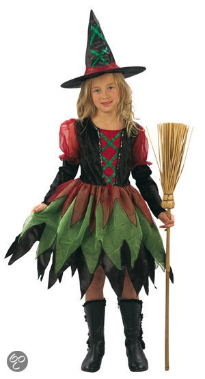 Pretty witch costume; Halloween. Heks 2