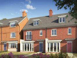 Waters Edge is a stunning development of new houses for sale in Wimborne Minster.