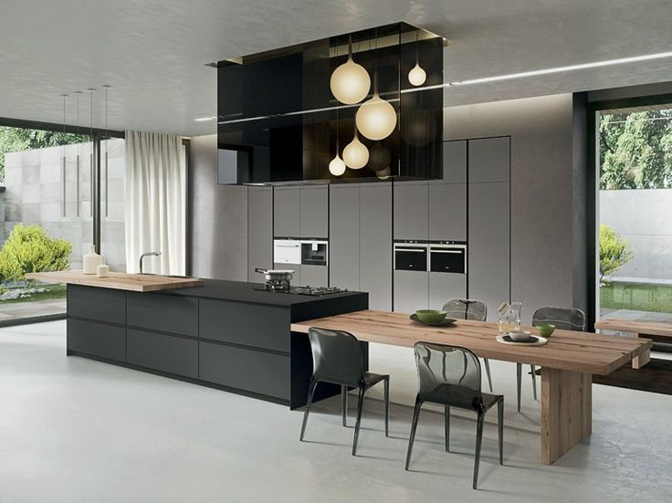 Kitchen Colours! AK_04 Fenix-NTM® kitchen by Arrital