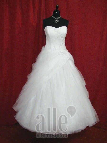 Esküvői ruhák 1 (12) ★★★ AlleMode esküvői ruhaszalon Budapest Teréz körút 12.
