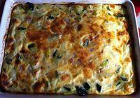 Pastel express de calabacín / 3 huevos  - Un vaso de leche  - Un calabacín grande  - Tacos de jamón serrano  - Tacos de queso  - Ajo molido, pimienta y s   Estuches y moldes Lekue a la venta aquí: http://www.cornergp.com/?cat=183
