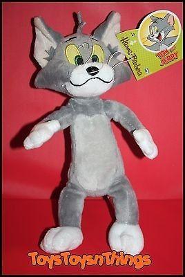 HANNA BARBERA 2012 Tom and Jerry plush TOM stuffed animal doll NEW 9