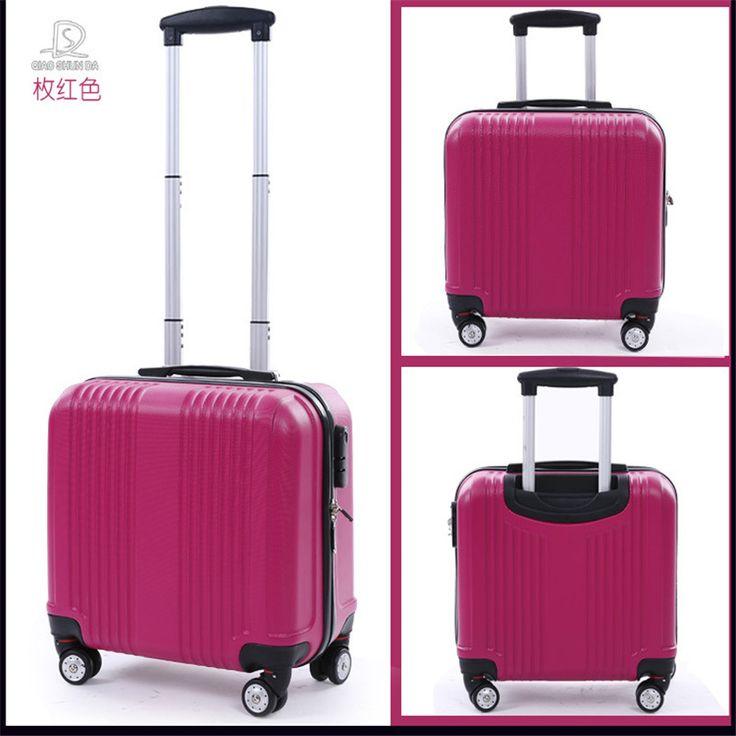 Rússia mulheres de viagem malas 16 polegadas bagagem bolsa de viagem ABS conjuntos de bagagem de viagem bagagem rolando duro bonito para as mulheres em Malas rígidas de Bagagem & Bags no AliExpress.com   Alibaba Group