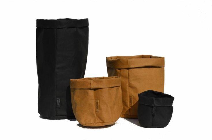 Wasbare papieren zakken bij Incosi! Je kunt op deze zakken met krijt schrijven en ze zijn wasbaar tot 50°C. Een geweldig nieuw product!
