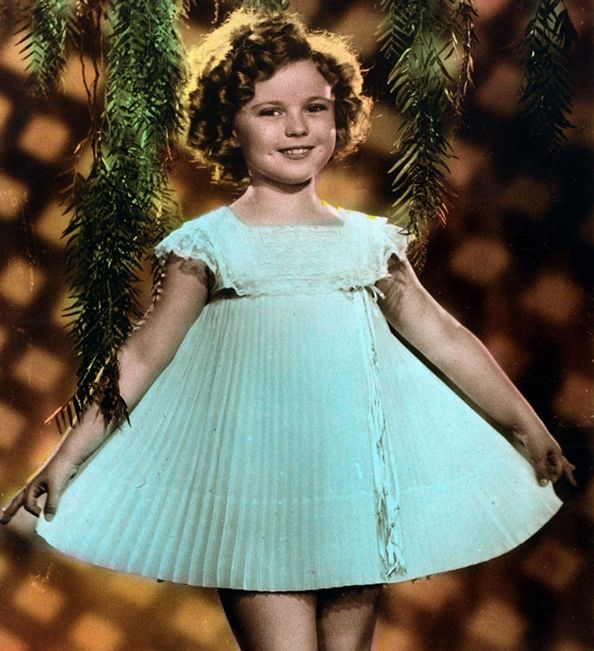Remembering Shirley Temple on Her 86th Birthday  #InStyle