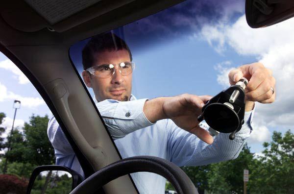 How To Repair Broken Auto Glass #stepbystep