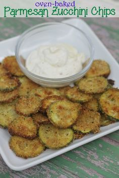 Oven baked parmesan zucchini chips recipe- so crunchy, so delicious- and so much less guilt! part of the kids in the kitchen series kidsinthekitchen zucchinirecipes
