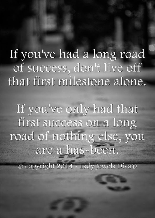 LJD - Success, life, and that long road... - http://www.jewelsdiva.com.au/2014/11/success-life-and-that-long-road.html