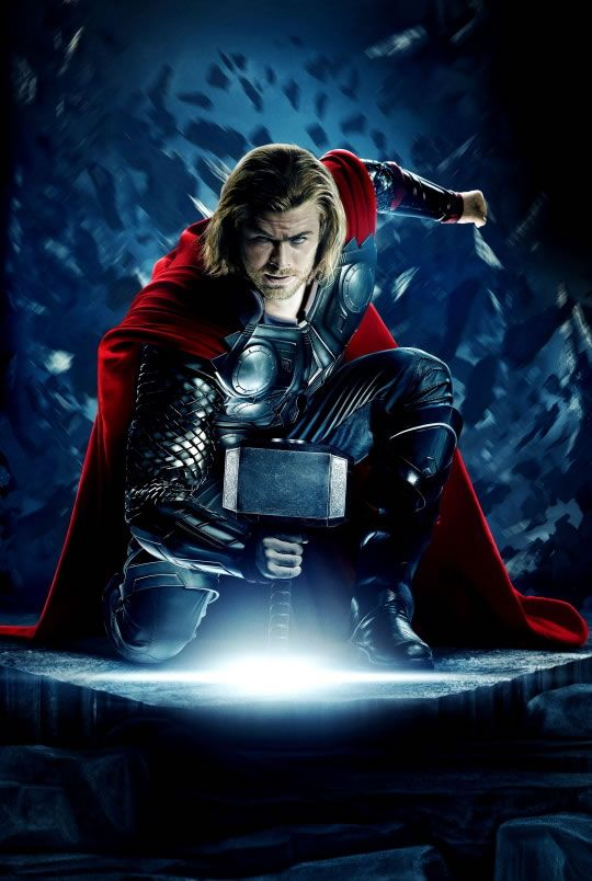 Thor - my childhood come to the big screen.....good job Branagh, shame about the self love in the Olympics:-)