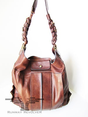 AUTHENTIC SOLD OUT CHLOE LEATHER HELOISE LARGE TOTE HOBO $1595 ...