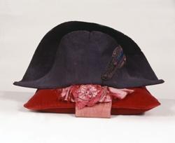 The Emperor's Hat, summer model seen with Napoléon's Legion of Honour Sash Poupard Chapelier  c. 1805