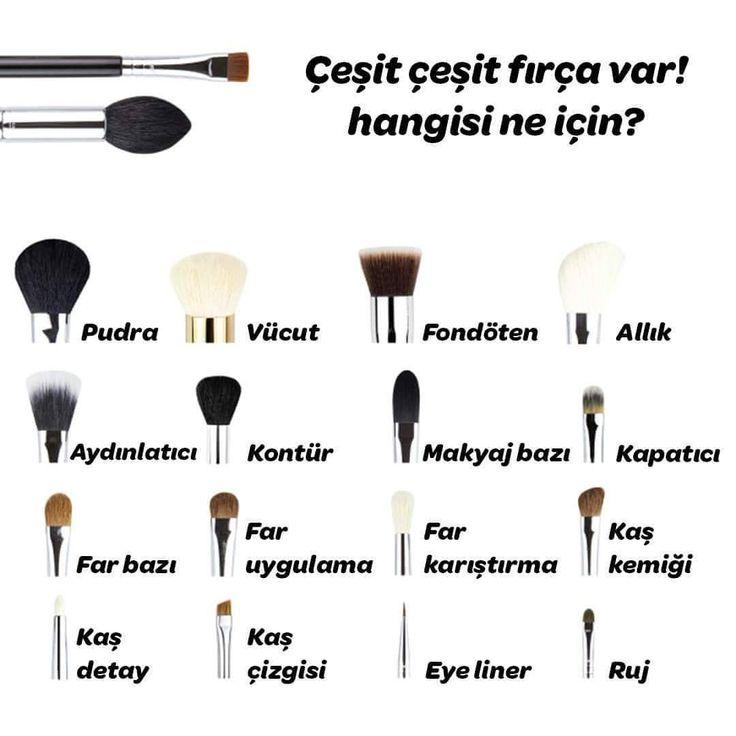 """343 Beğenme, 5 Yorum - Instagram'da Mynet Kadın (@mynetkadin): """"Profesyonel makyaj yapmak için hangi fırçaları kullanmalıyız? #mynetkadin #makyaj #fırça #guzellik…"""""""