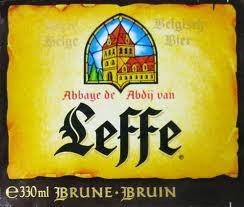 leffe brune  best dark belgium beer