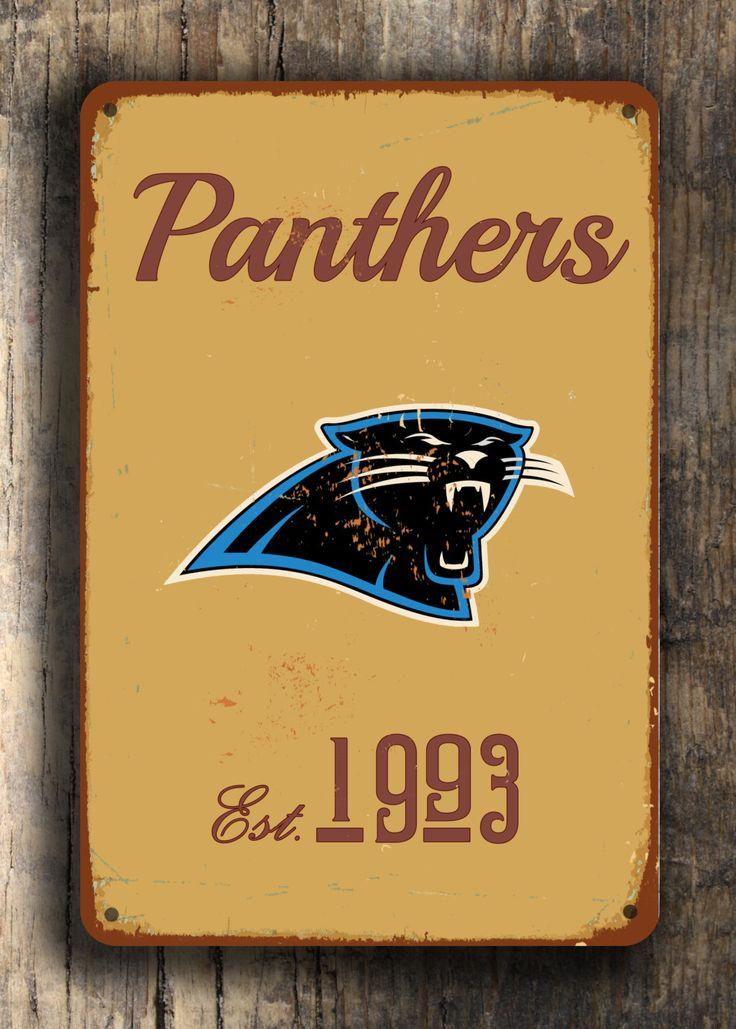 Carolina Panthers Logo Sign