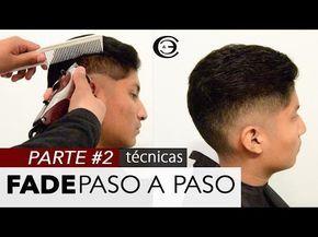 Fade con Navaja Paso a Paso ★ Razor Fade, Skin Fade | Desvanecido con Diseño - YouTube