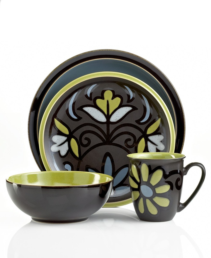 denby dinnerware jet mix and match collection. Black Bedroom Furniture Sets. Home Design Ideas
