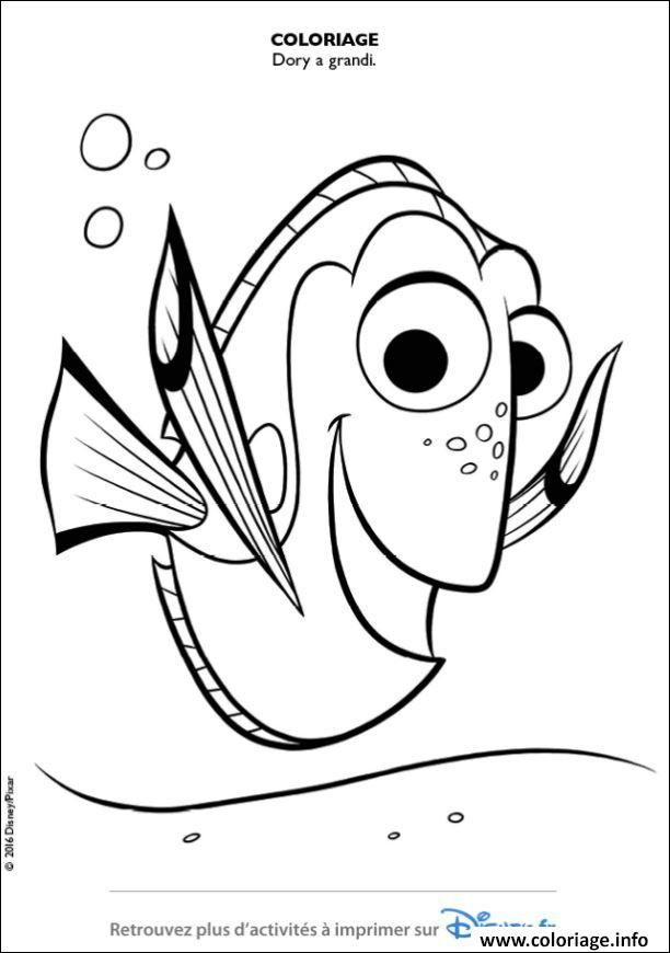 13 Sympathique Dessin Dory Gallery Buku Mewarnai Sketsa Tutorial Gambar Kartun