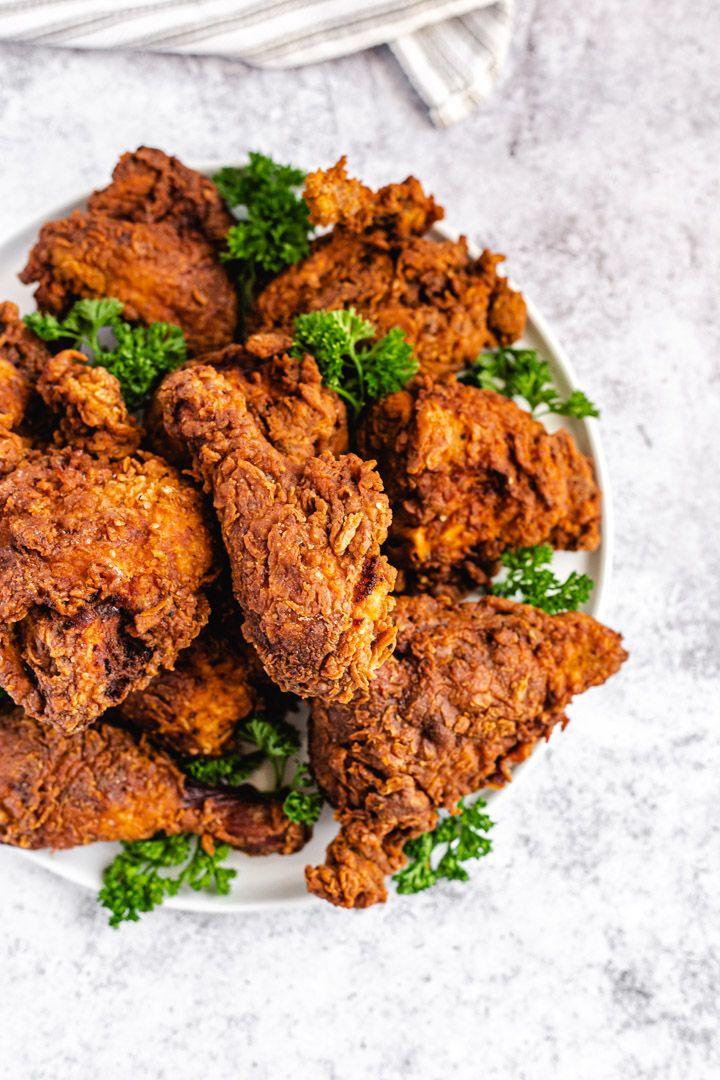 Spicy Buttermilk Fried Chicken Recipe In 2020 Air Fryer Recipes Chicken Buttermilk Fried Chicken Chicken