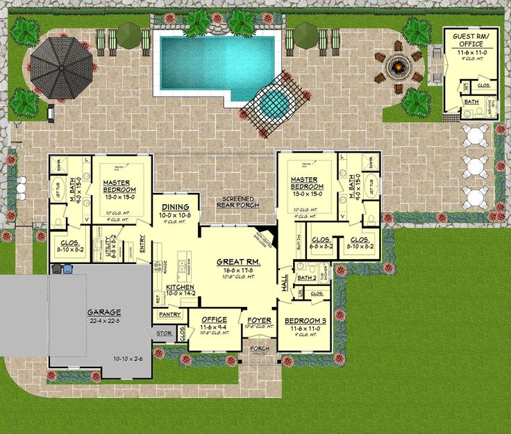 111 best images about floor plans and ideas for extras on for Fun house plans