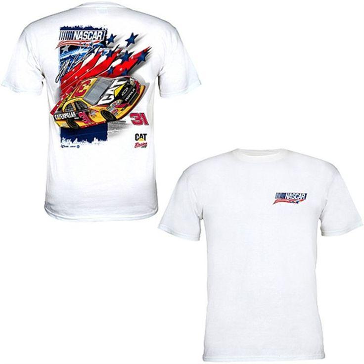 Chase Authentics NASCAR Unites - An American Salute Jeff Burton Program T-Shirt