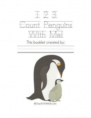 123 Count Penguins With Me free booklet