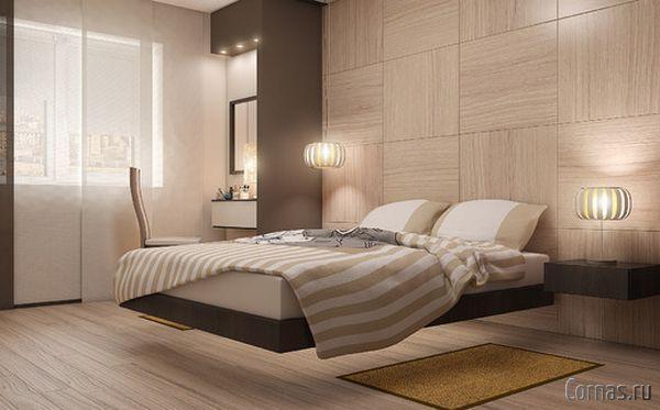 Дизайн спальни 9 кв.м фото |