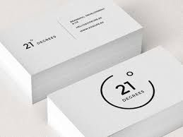 Image result for minimalistic business cards