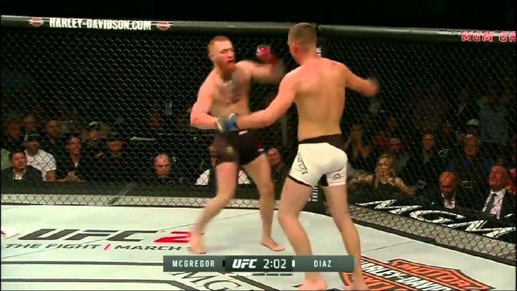Conor McGregor eats the Stockton Slap via Nate Diaz