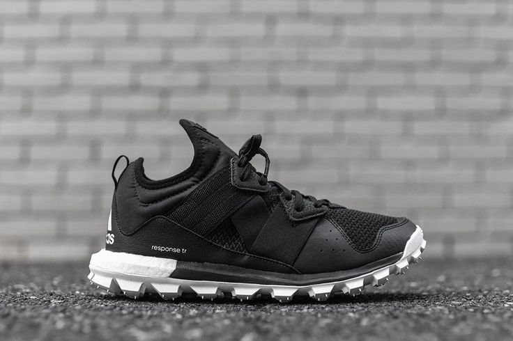 adidas Response Trail Boost Releases in Black/White - EU Kicks: Sneaker Magazine