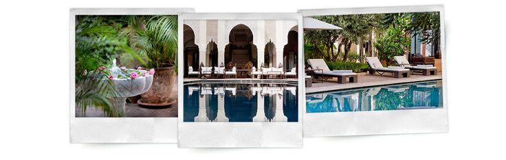 La Villa des Orangers accueille le premier spa Nuxe au cœur de Marrakech, pour une déconnexion intégrale totalement dépaysante.