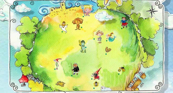 Multimedialne zwiedzanie Polski dla dzieci