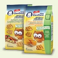 Try NEW Nestlé Gerber Lil'Whoos crackers and get $1 cash back! Your toddler will love 'em!