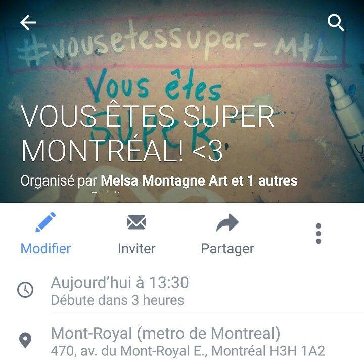 #vousetessuper_mtl