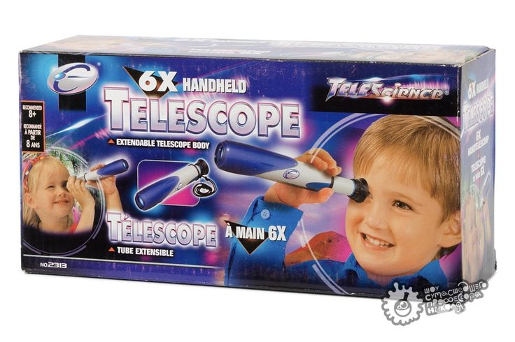 Интернет-магазин - Летняя наука - Компактный телескоп в коробке — Шоу сумасшедшего профессора Николя