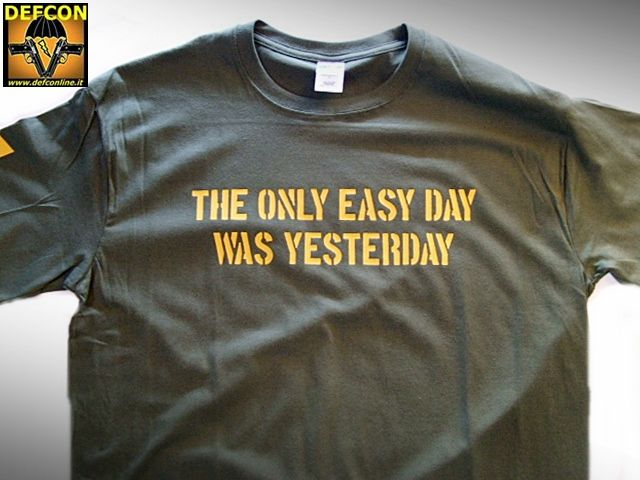 NAVY SEALs' MOTTO TEE
