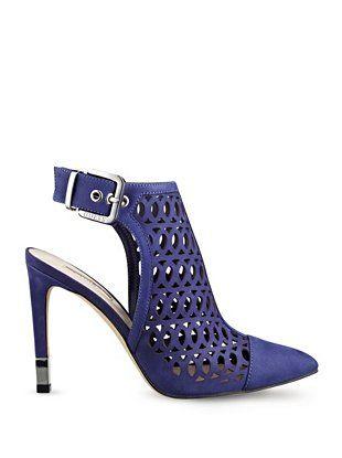 Shoes - Venilia Laser-Cut Booties