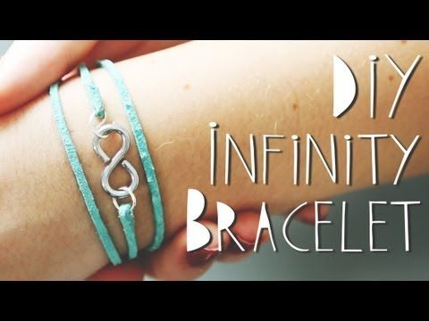 DIY infinity wrap bracelet