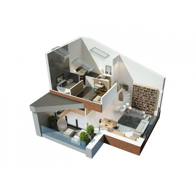 Apartament 2.01 Luksusowe, nowe mieszkania i apartamenty sprzedaż - Poznań warzelnia