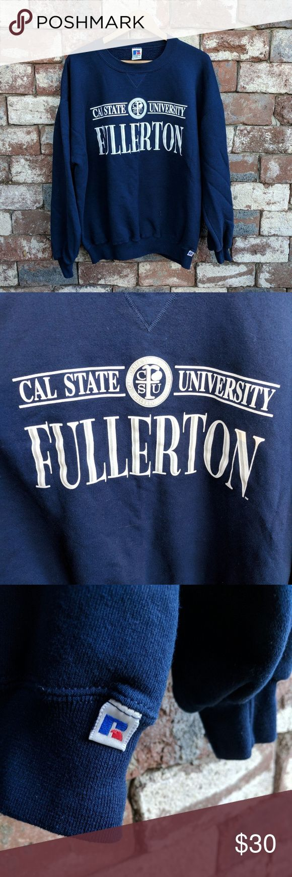 25 unique california state university fullerton ideas on vintage cal state fullerton crewneck ccuart Image collections